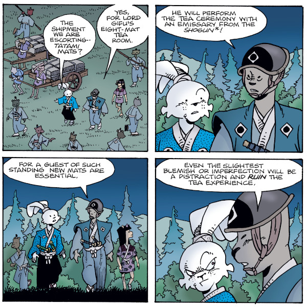 Usagi Yojimbo #9 comic review