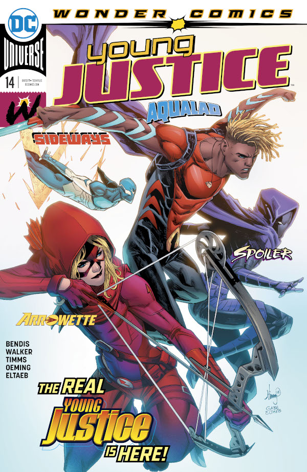 Young Justice #14 comic review