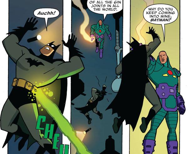 Batman: The Adventures Continue #1 comic review
