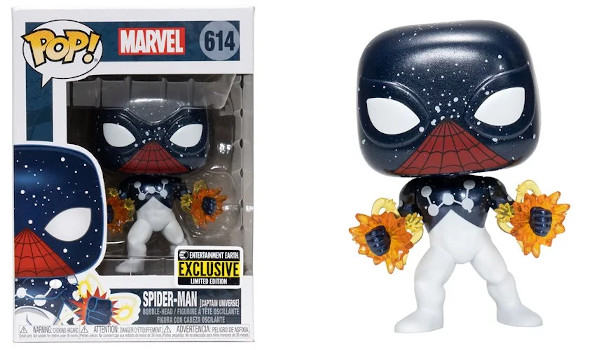 Spider-Man Captain Universe Pop! Vinyl Figure