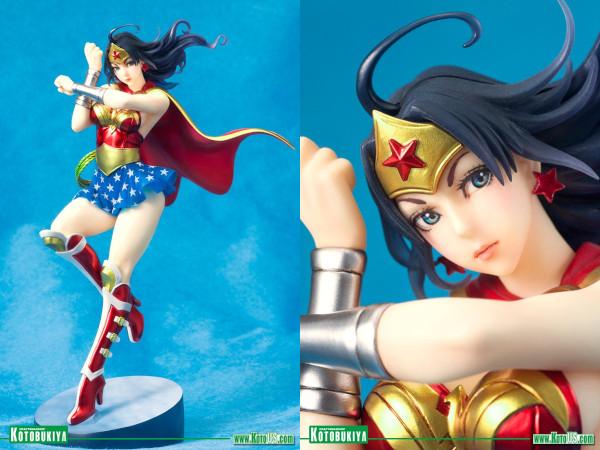 DC Armored Wonder Woman Bishoujo Statue