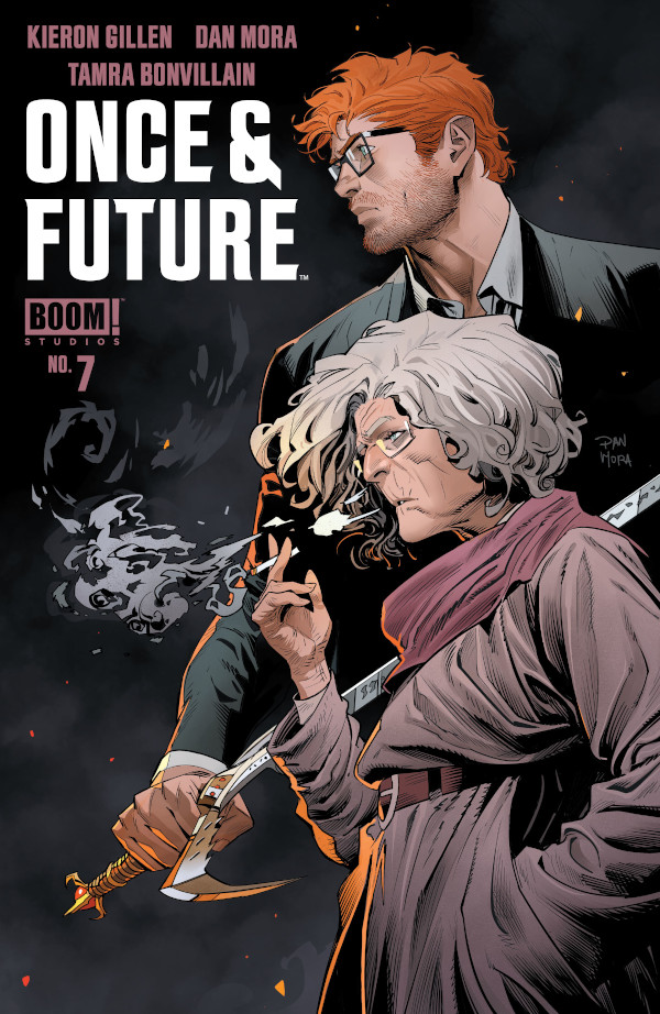 Once and Future #7 comic review