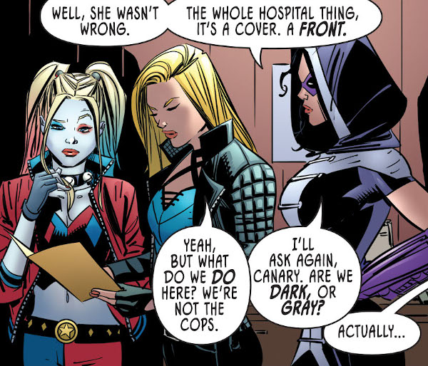 Birds of Prey: Sirens of Justice #1 comic review