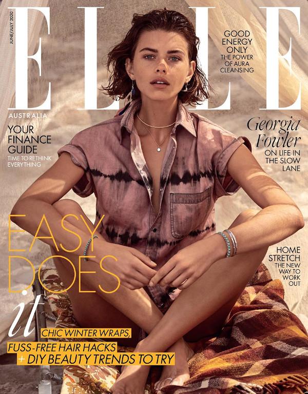 Georgia Fowler - Elle Australia (June 2020)