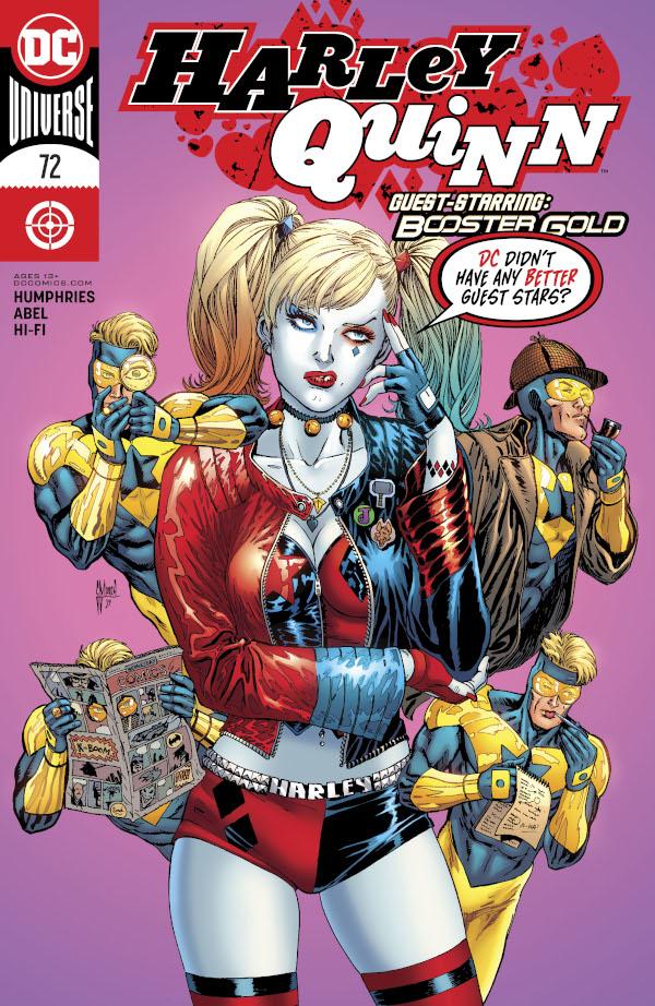 Harley Quinn #72 comic review