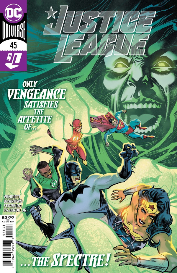 Justice League #45 comic review