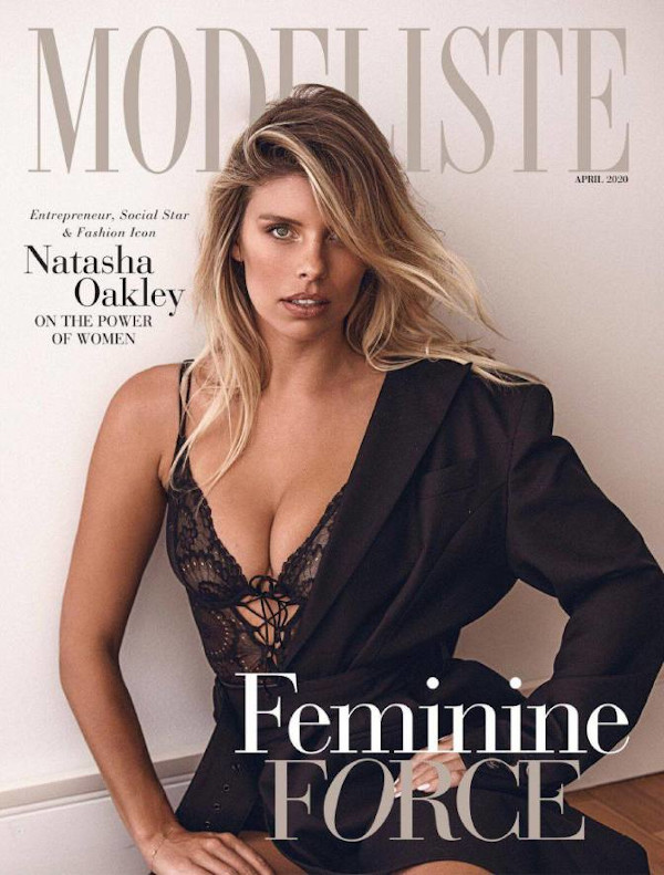 Natasha Oakley - Modeliste (April 2020)