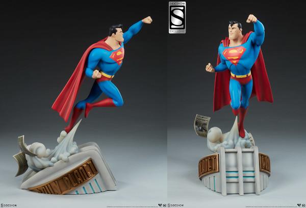 Superman Animated Statue
