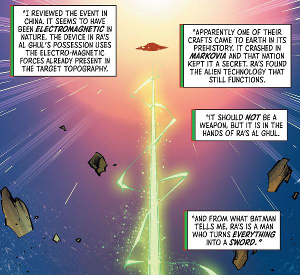 Batman & the Outsiders #13 comic review