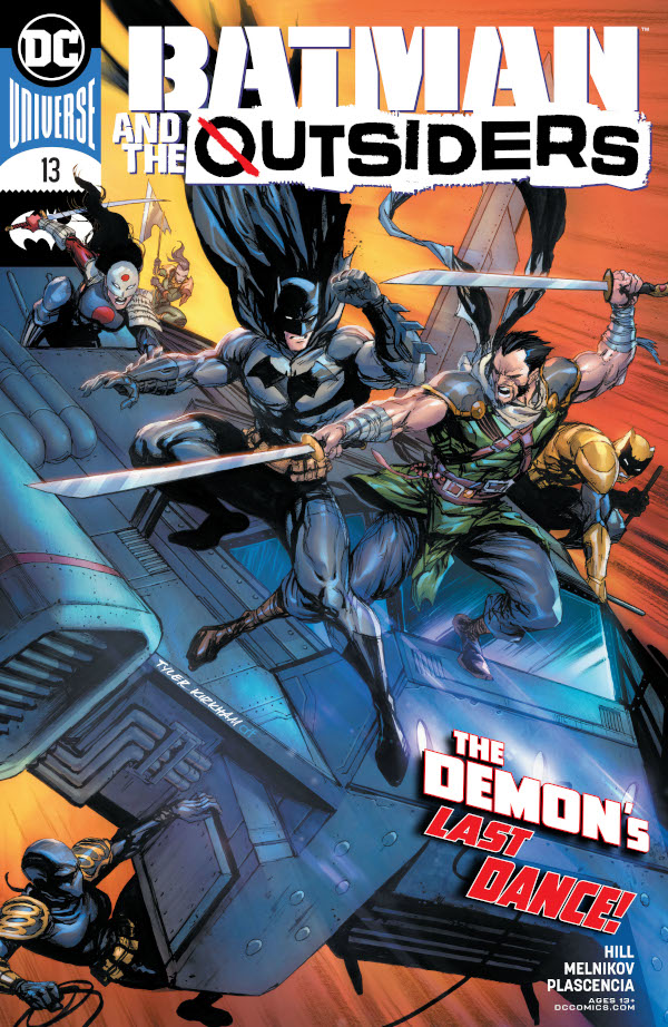 Batman & the Outsiders #13 comic review