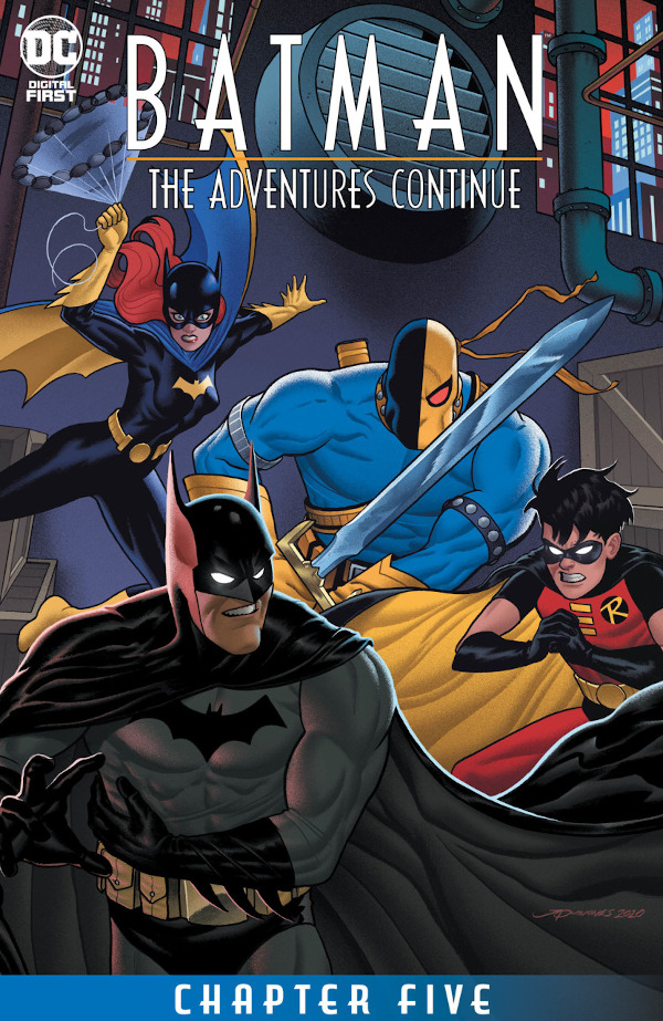 Batman: The Adventures Continue #5 comic review