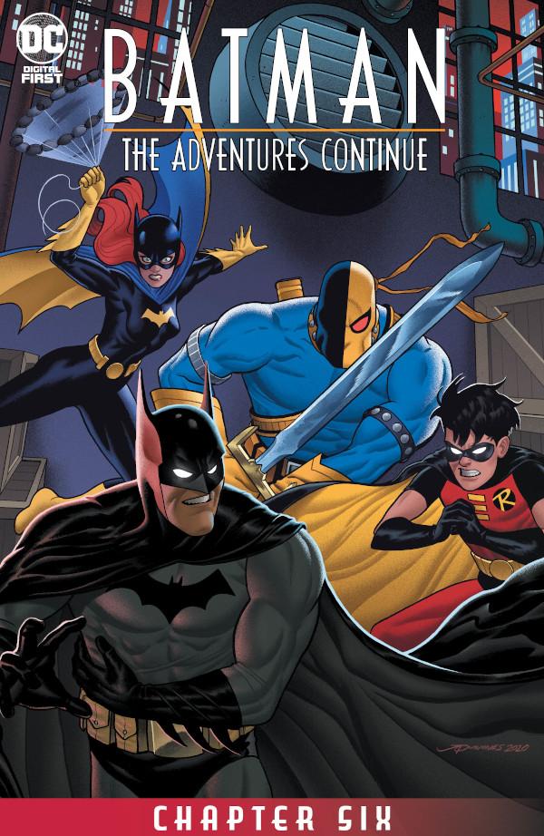 Batman: The Adventures Continue #6 comic review