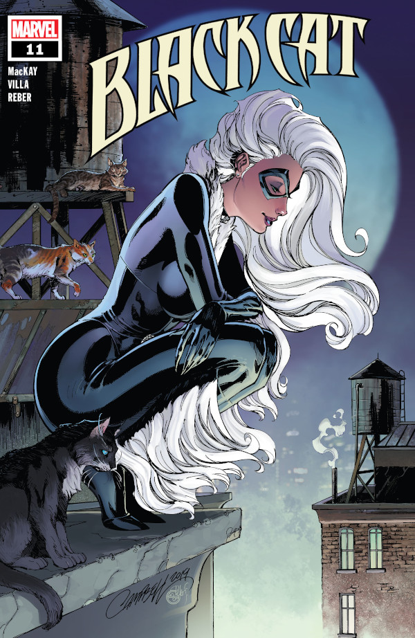 Black Cat #11 comic review
