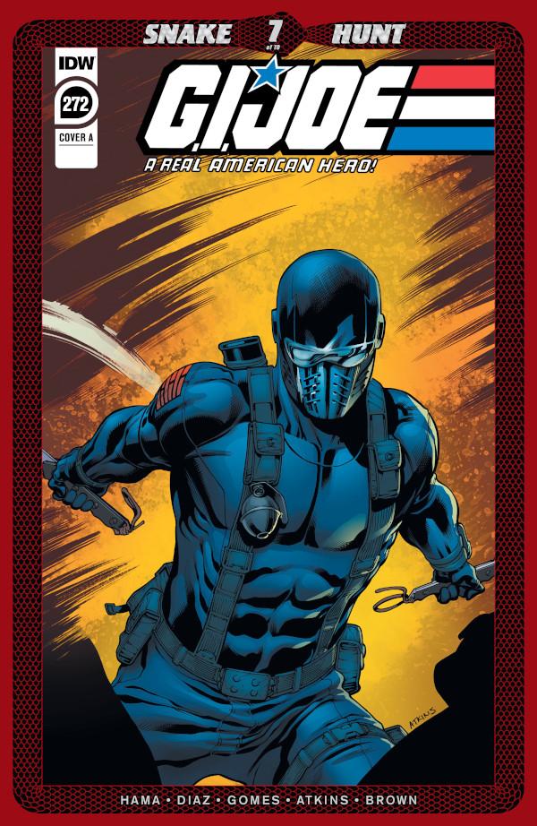 G.I. JOE: A Real American Hero #272 comic review