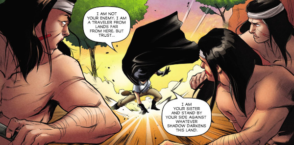 Lady Zorro #1 comic review