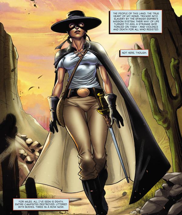 Lady Zorro #1 comic review