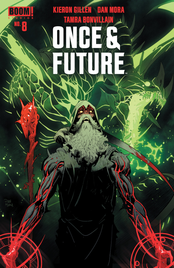 Once and Future #8 comic review