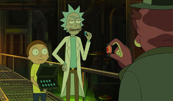 Rick and Morty - The Vat of Acid Episode television review