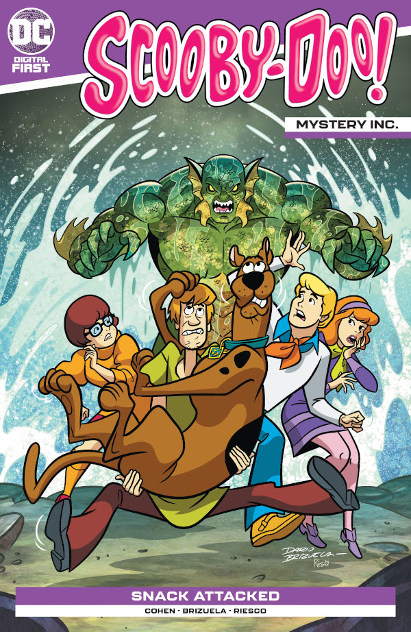 Scooby-Doo: Mystery Inc. #1 comic review