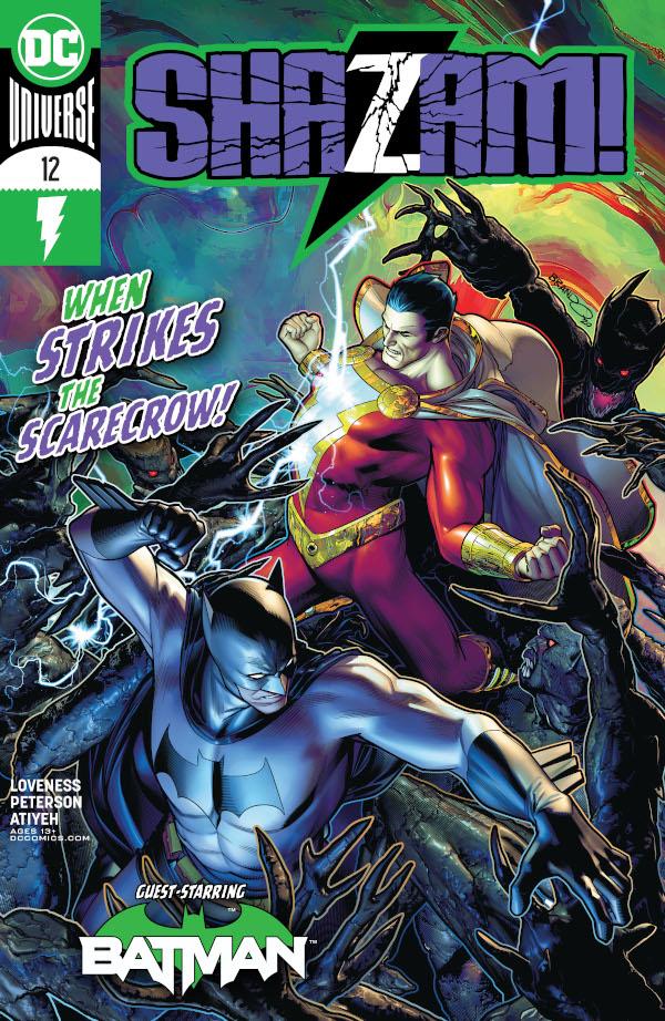 SHAZAM! #12 comics