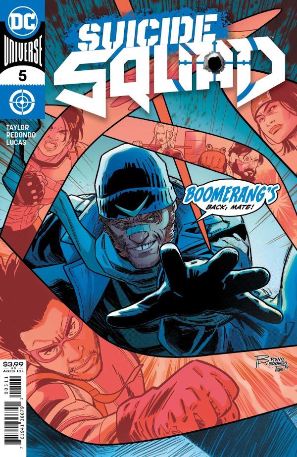 Suicide Squad #5 comic review