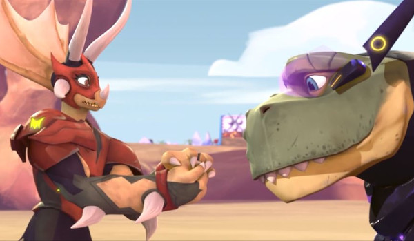 Super Dinosaur - Go to Town television review