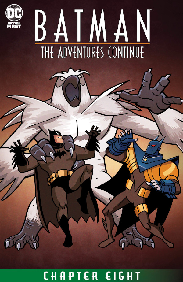 Batman: The Adventures Continue #8 comic review
