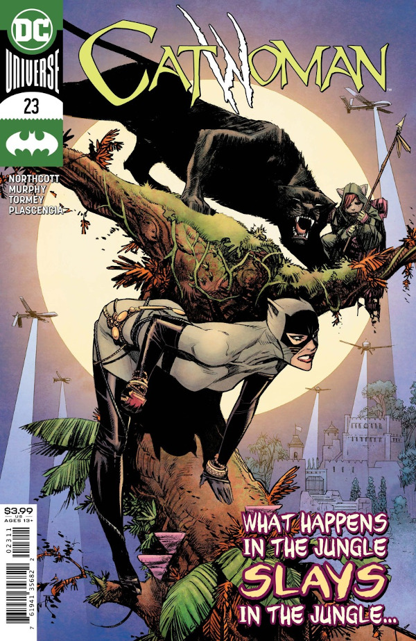 Catwoman #23 comic review