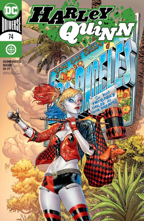 Harley Quinn #74 comic review