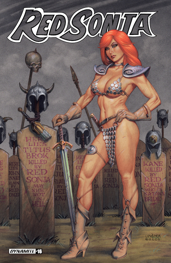 Red Sonja #16 comic review