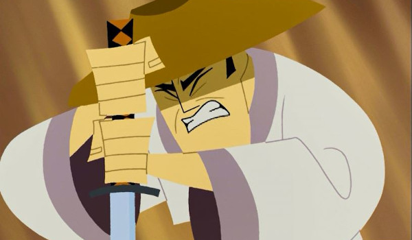 Samurai Jack - Episode XX: Jack and the Monks television review