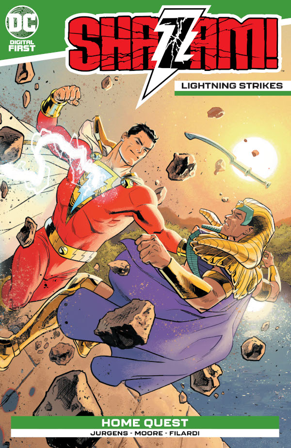 SHAZAM!: Lightning Strikes #1 comic review