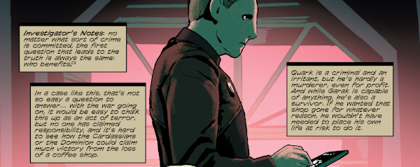 Star Trek: Deep Space Nine - Too Long A Sacrifice #1 comics
