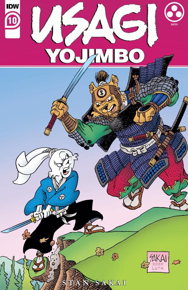 Usagi Yojimbo #10 comic review