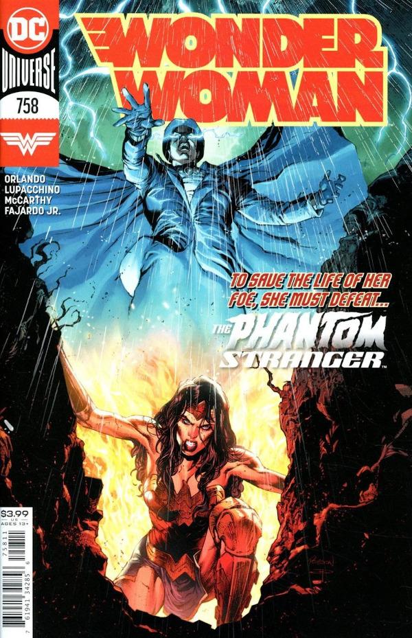 Wonder Woman #758 comic review