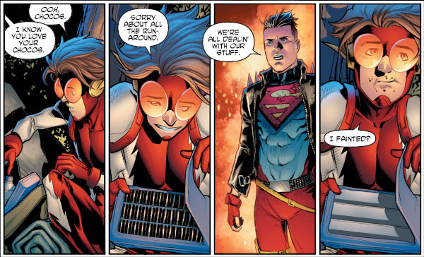 Young Justice #16 comic review