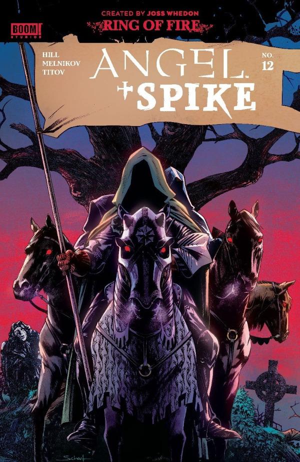 Angel + Spike #12 comic review