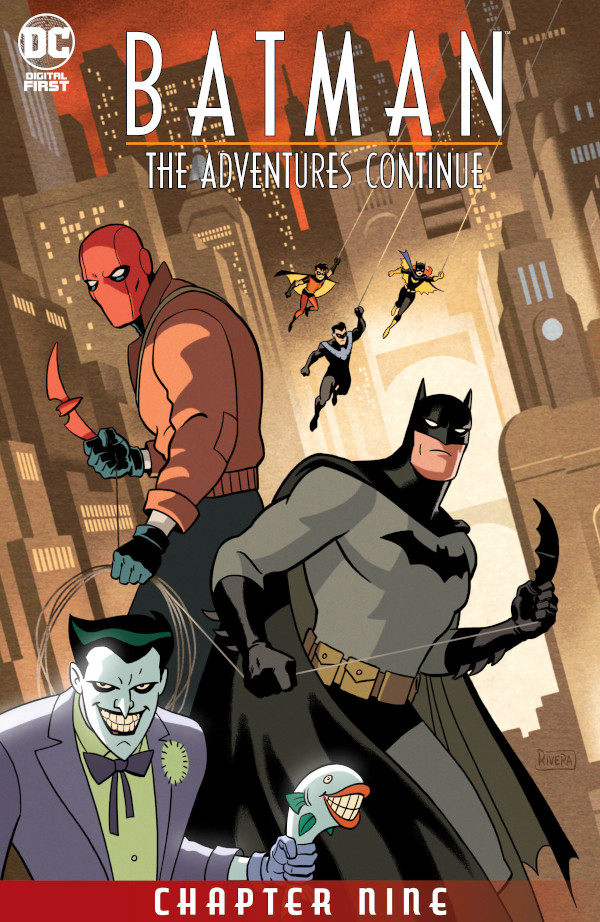 Batman: The Adventures Continue #9 comic review