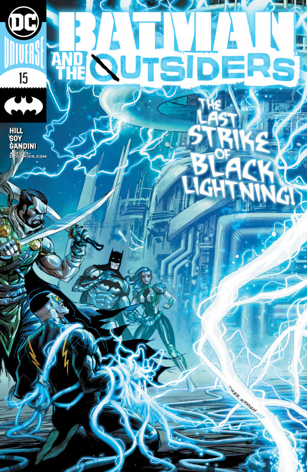 Batman & the Outsiders #15 comic review
