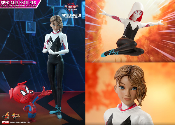 Into the Spider-Verse Spider Gwen Sixth Scale Figure