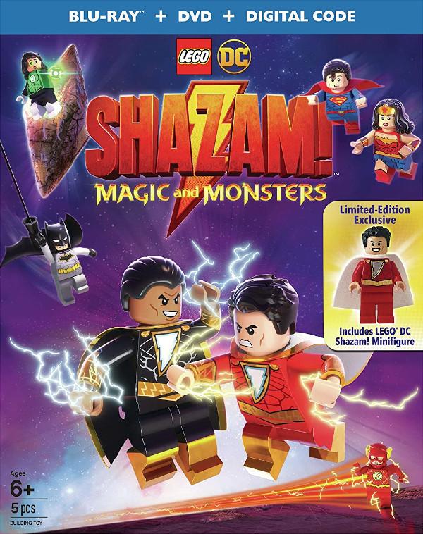 LEGO DC: SHAZAM! - Magic & Monsters Blu-ray review