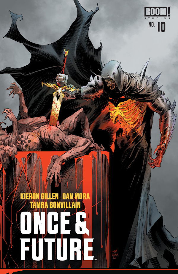 Once and Future #10 comic review