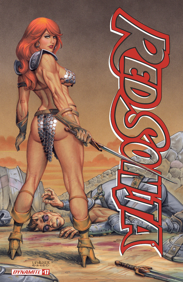 Red Sonja #17 comic review