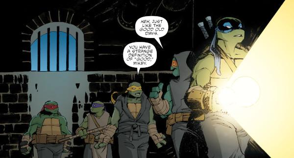 Teenage Mutant Ninja Turtles #107 comic review
