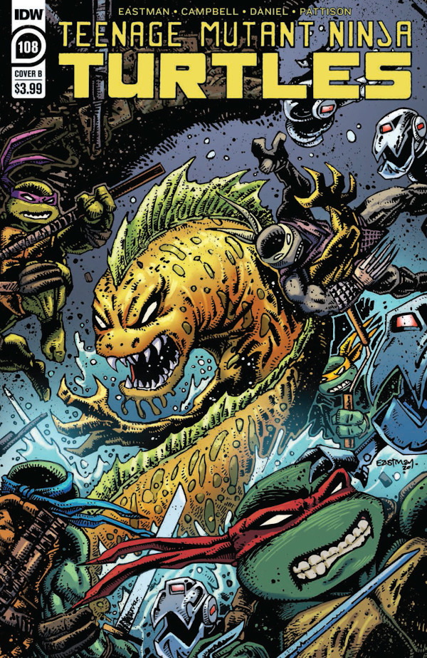 Teenage Mutant Ninja Turtles #108 television review
