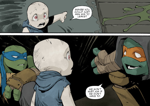 Teenage Mutant Ninja Turtles #108 television review