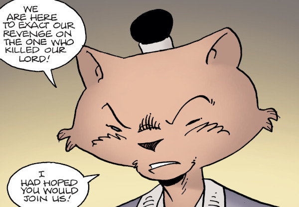 Usagi Yojimbo #11 comic review