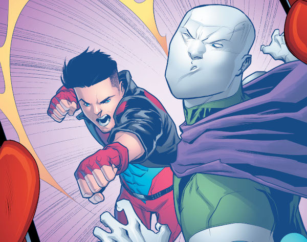 Young Justice #17 comic review