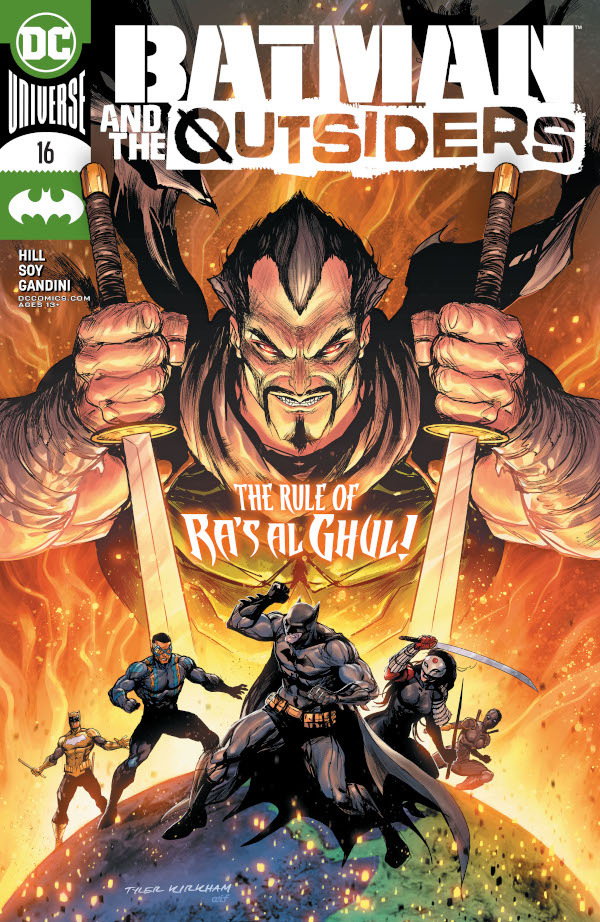 Batman & the Outsiders #16 comic review