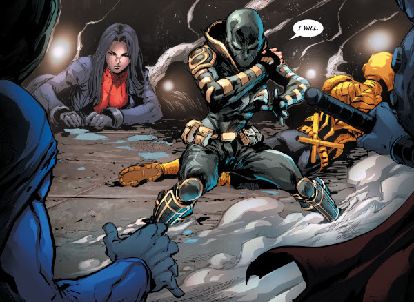 Batman & the Outsiders #16 comic review